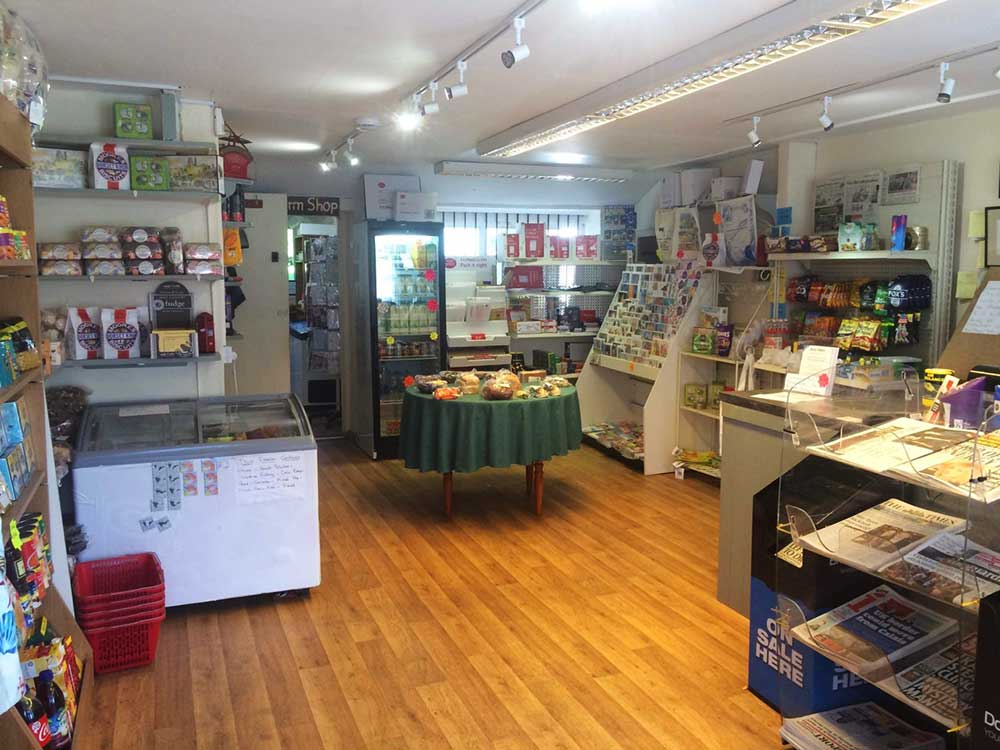 Inside Maydown Farm Shop, Burton Bradstock
