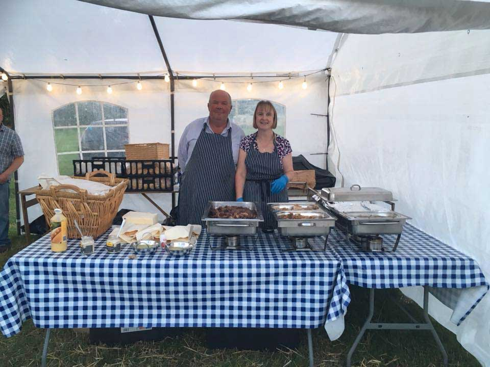 Maydown Farm's hog roasts take the stress out of your event catering!